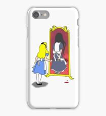 Madness through the looking glass iPhone Case/Skin