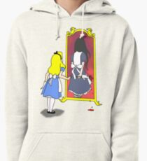 Madness through the looking glass Pullover Hoodie