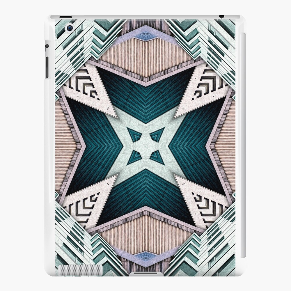 City Buildings Abstract 2 iPad Cases & Skins