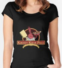Krusty Krab Pizza Women's Fitted Scoop T-Shirt