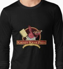Krusty Krab Pizza Long Sleeve T-Shirt