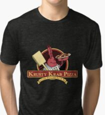 Krusty Krab Pizza Tri-blend T-Shirt