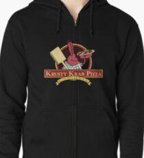 Krusty Krab Pizza Zipped Hoodie