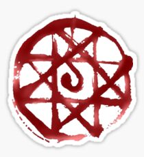Blood Transmutation circle Sticker