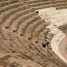 Pompeii, Large Theatre by Irina Chuckowree
