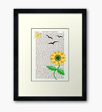 summer is here! Framed Print