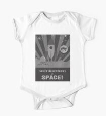 Space adventures, In Space!  One Piece - Short Sleeve