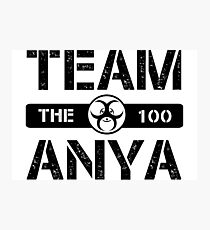 Team Anya Photographic Print