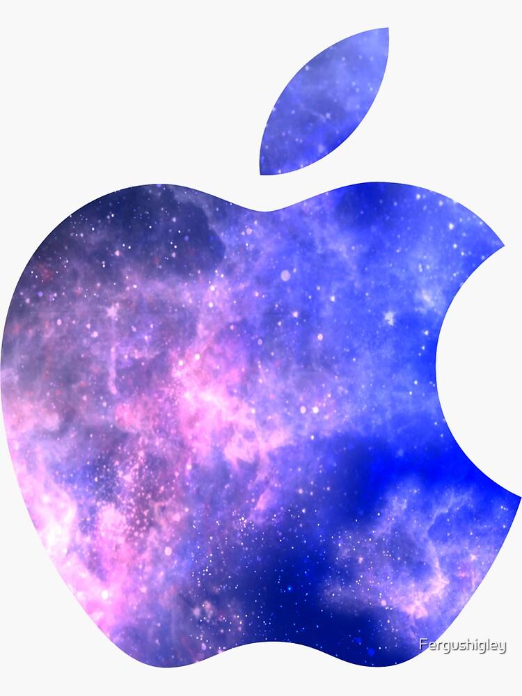 Galaxy Apple Logo by Fergushigley