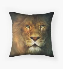 Narnia Lion Throw Pillow