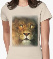 Narnia Lion Womens Fitted T-Shirt