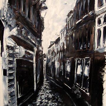 Street in Amsterdam by ocmer