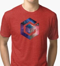 Galaxy GameCube Logo Tri-blend T-Shirt
