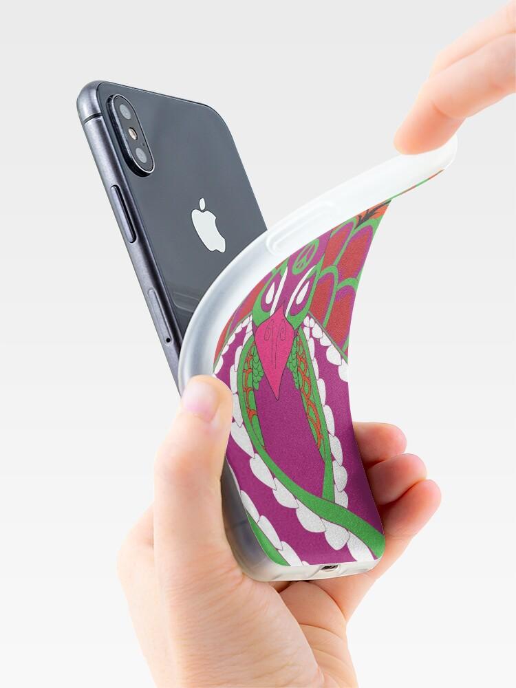 Alternative Ansicht von Psychedelisch iPhone-Hülle & Cover