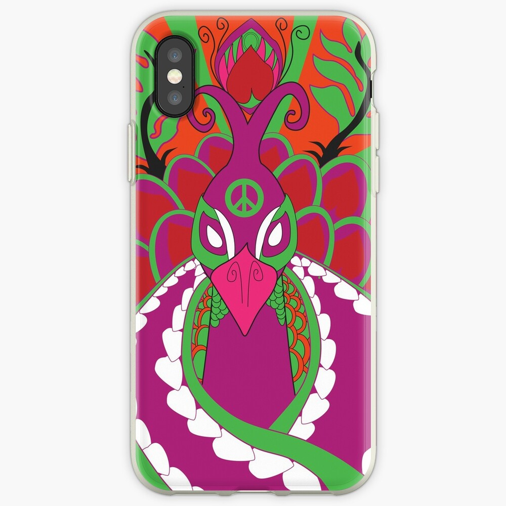 Psychedelisch iPhone-Hülle & Cover