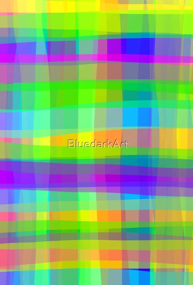 Psychedelic Fabric Texture Pattern by BluedarkArt