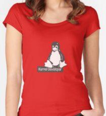 Linux Kernel Developer Women's Fitted Scoop T-Shirt