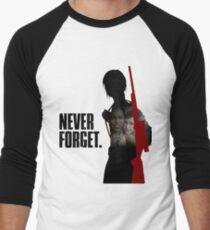 Never Forget - Ellie Men's Baseball ¾ T-Shirt