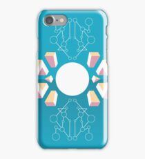 Isometric abstraction iPhone Case/Skin