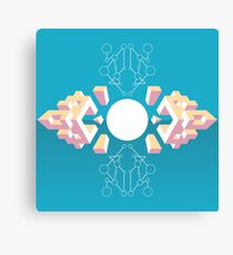 Isometric abstraction Canvas Print
