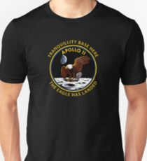 Apollo 11 Insignien Slim Fit T-Shirt