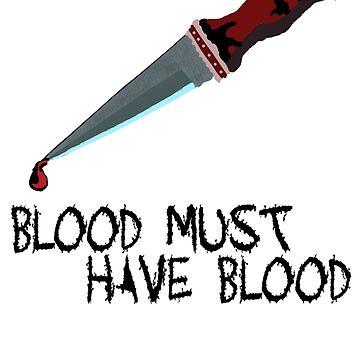 BLOOD MUST HAVE BLOOD by gabezyte