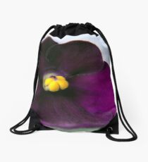 Nature macro Drawstring Bag
