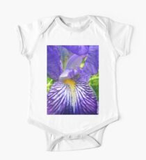 Purple Bearded Iris Monsignor Macro Kids Clothes
