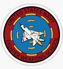 United States Navy Fighter Weapons School Top Gun Sticker