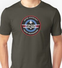 United States Navy Fighter Weapons School Top Gun Insignia T-Shirt