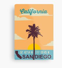 San Diego - California. Metal Print