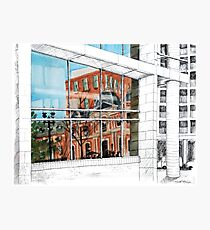 Reflected Architecture Photographic Print