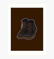 Boots [Big] Art Print