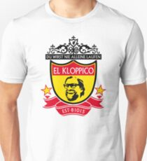 El Kloppico - Jurgen Klopp, Liverpool FC & Borussia Dortmund Emblem Unisex T-Shirt