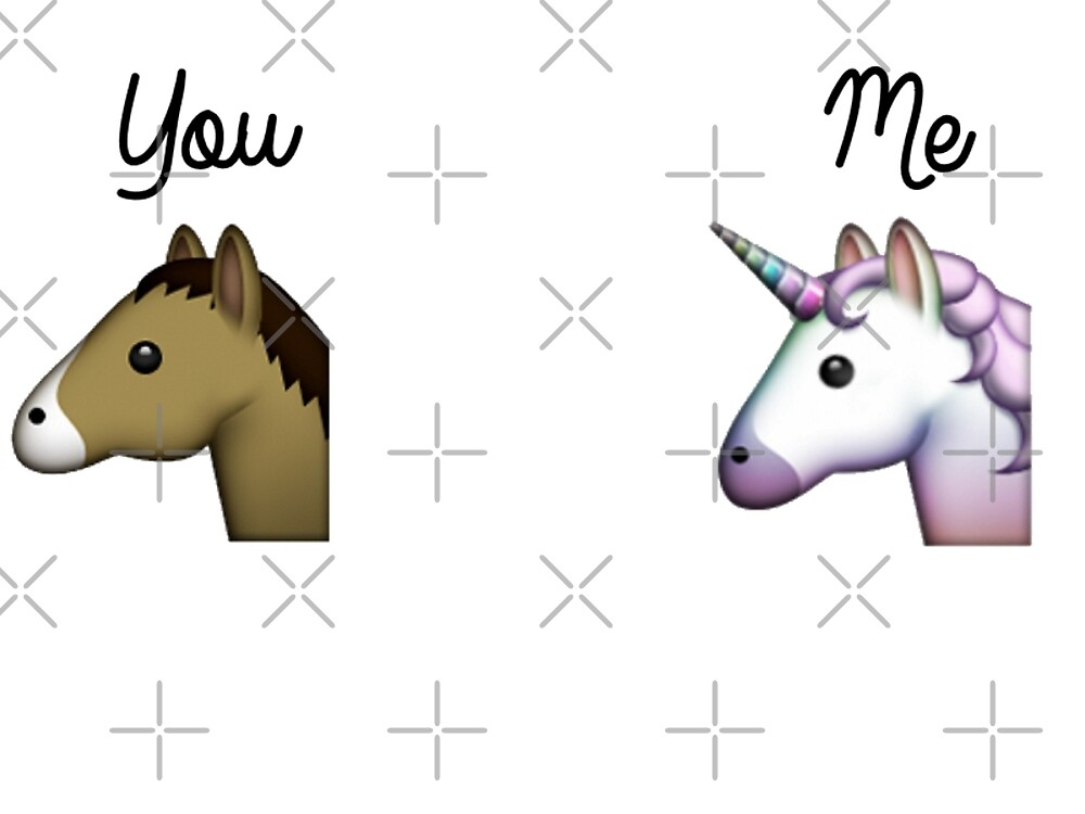 Quot Unicorn Emoji Me Vs You Quot By Noshin Mahmud Redbubble
