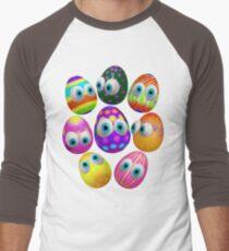 Cute Easter Eggs Cartoon 3d Pattern T-Shirt
