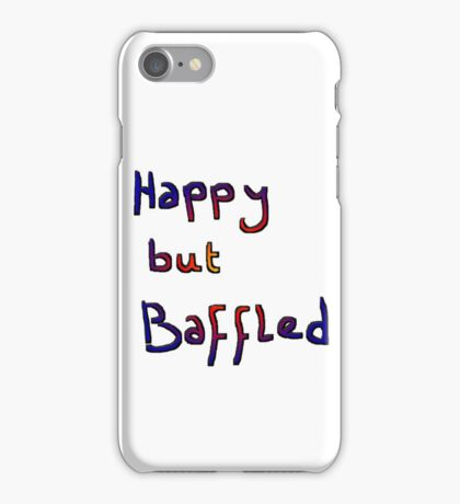 baffled & glowing iPhone Case/Skin