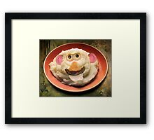 Mr. Potato Head Sr. Framed Print