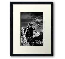 Sunset over Badlands National Park .3 Framed Print