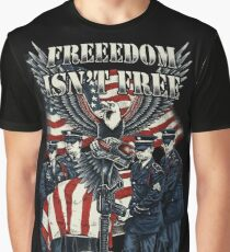 Veteran-Freedom Isn't Free Graphic T-Shirt
