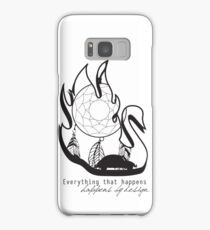 Swanfire - With Quote (Neal & Emma, Once Upon a Time) Samsung Galaxy Case/Skin