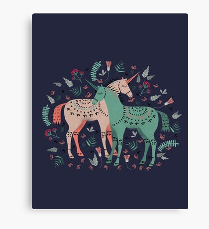 It's Still Unicorny Canvas Print