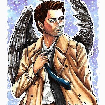 Angel of the Lord - Castiel by valkayaki
