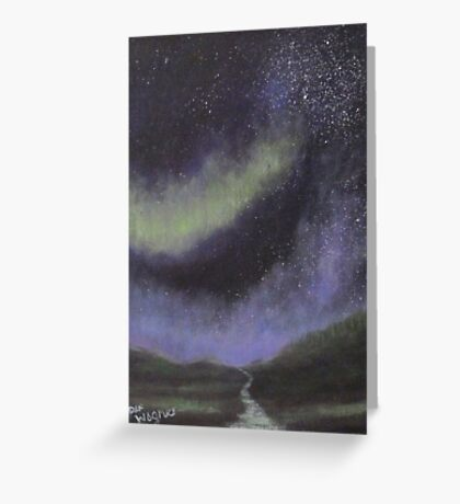 Star Path Greeting Card