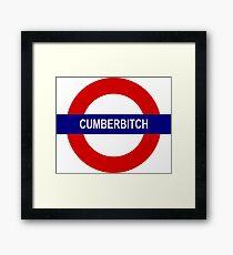 Cumberbitch Framed Print