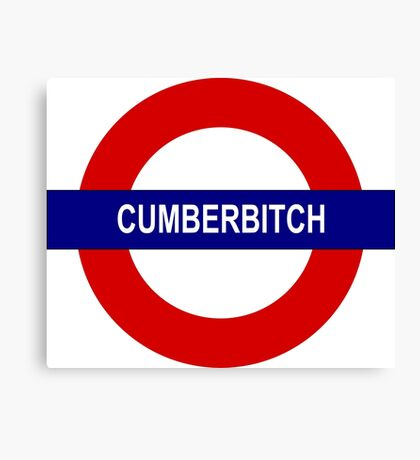 Cumberbitch Canvas Print