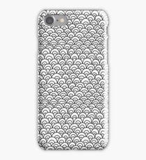 Zentangle Scales iPhone Case/Skin