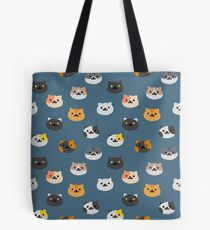 Neko Atsume Cats Tote Bag