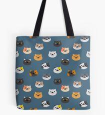 Neko Atsume Katzen Tote Bag
