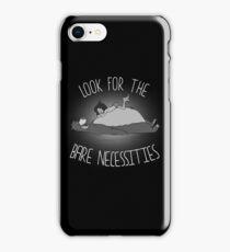 The bare necessities iPhone Case/Skin